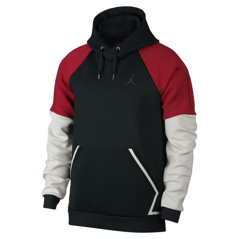 Jordan Sportswear Flight Tech Diamond Men's Pullover Hoodie - Black