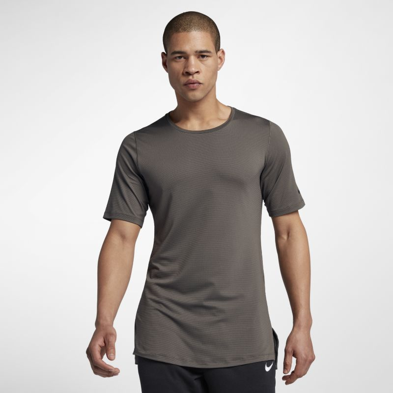 Nike Training Utility Men's Short-Sleeve Top - Brown