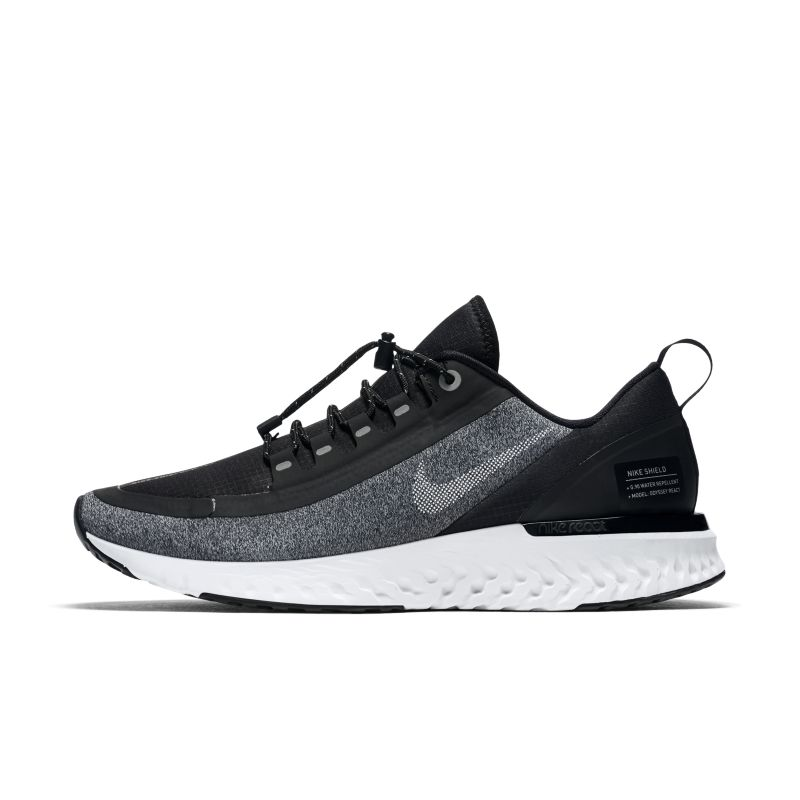 Nike Odyssey React Shield Water-Repellent Women's Running Shoe - Black