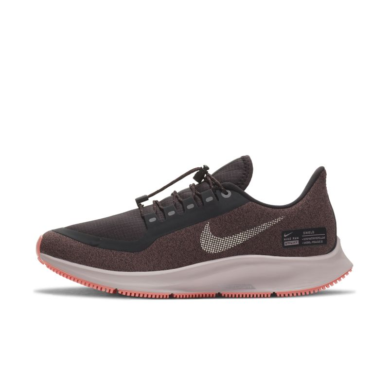 Nike Air Zoom Pegasus 35 Shield Water-Repellent Women's Running Shoe - Grey