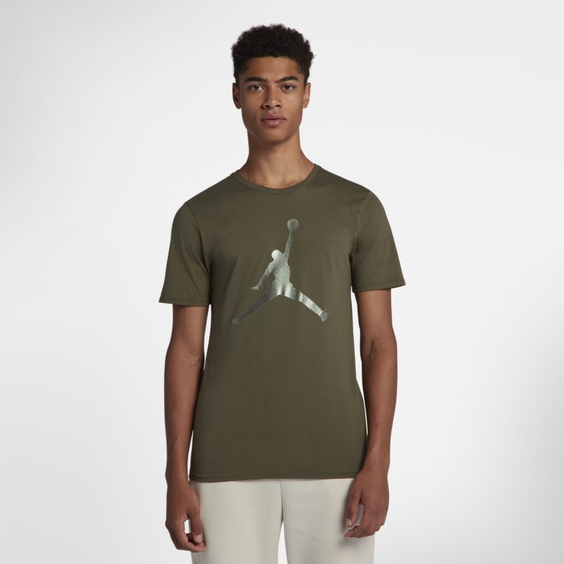Jordan Lifestyle Iconic Jumpman Men's T-Shirt - Green