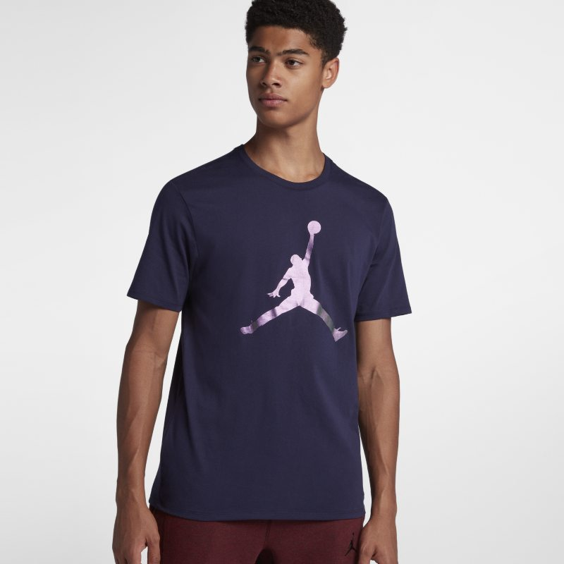 Jordan Lifestyle Iconic Jumpman Men's T-Shirt - Blue