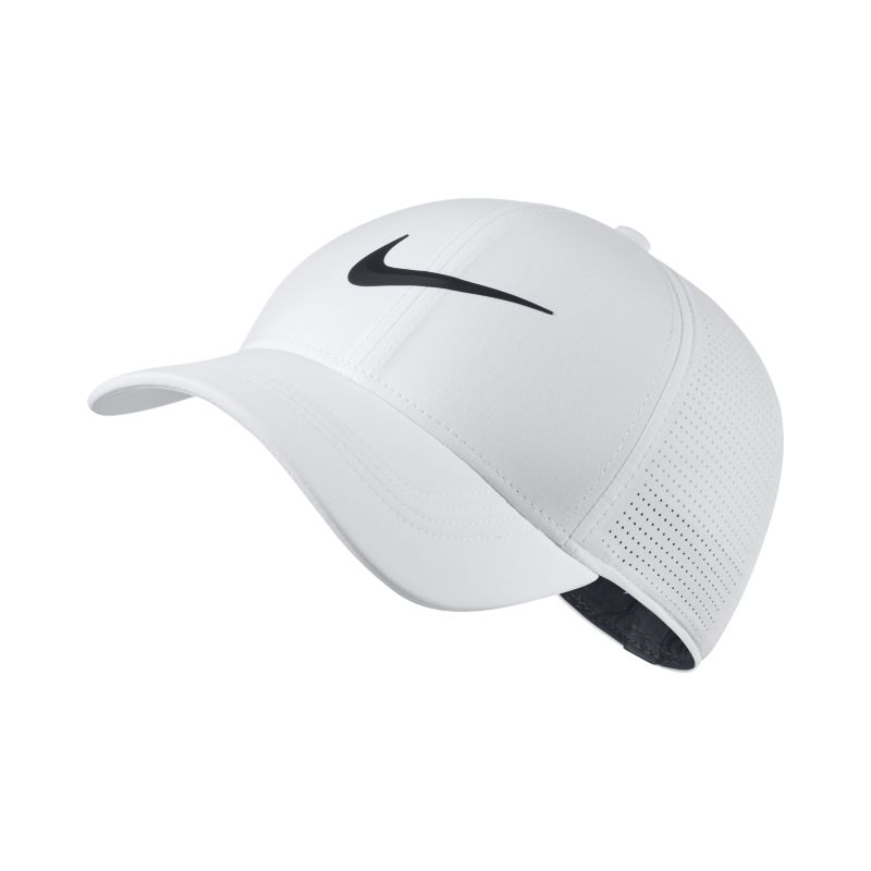 Nike AeroBill Legacy 91 Fitted Golf Hat - White