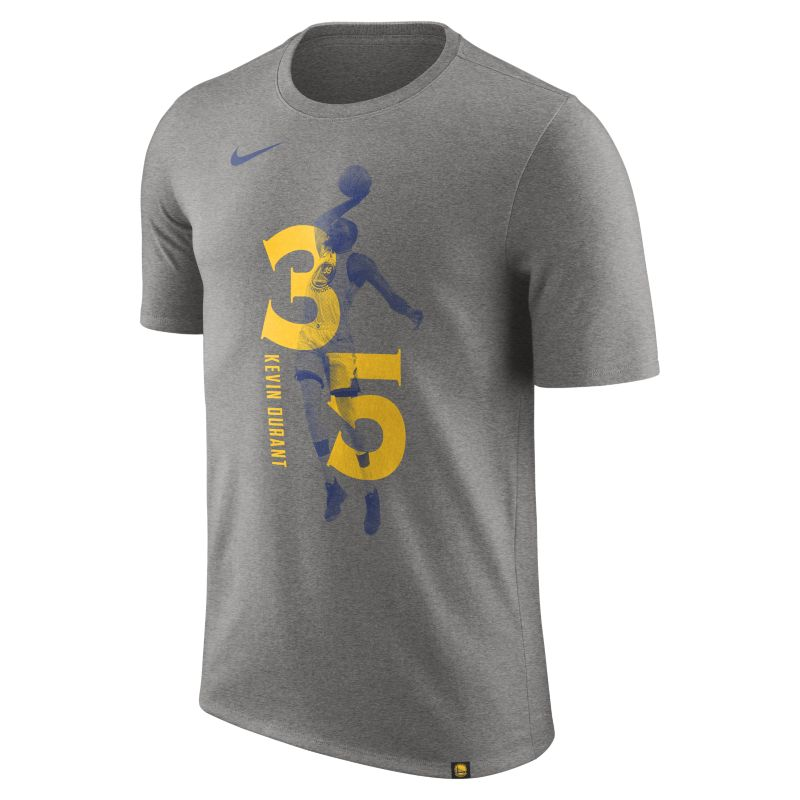 Kevin Durant Golden State Warriors Nike Dry Men's NBA T-Shirt - Grey