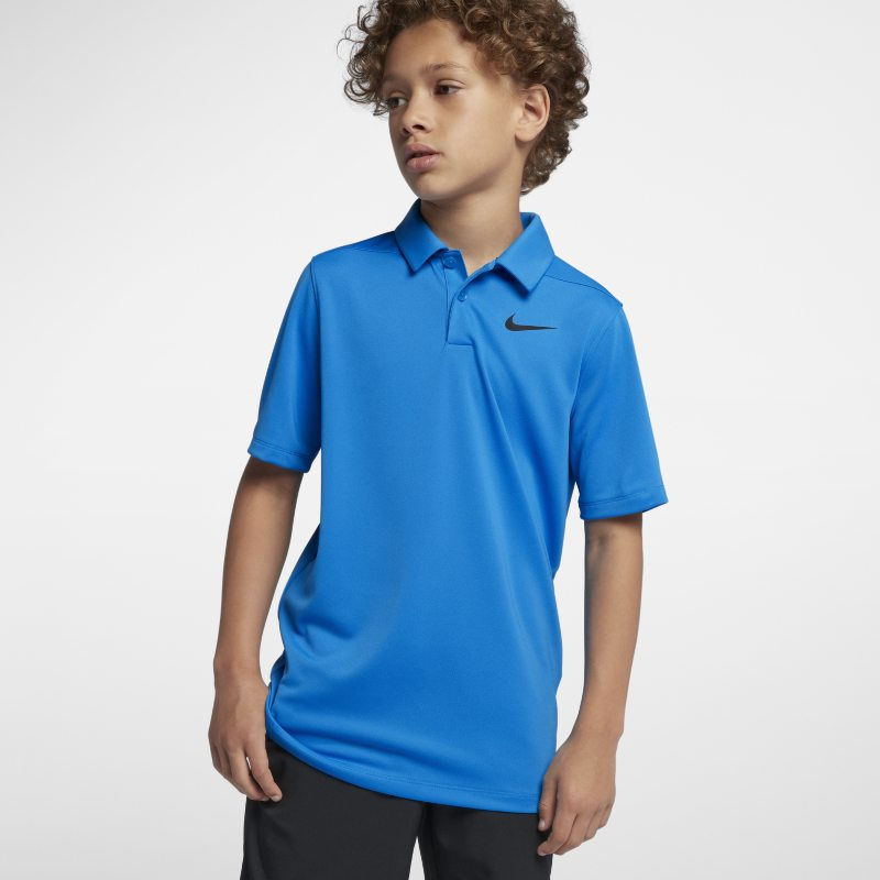 Nike Dri-FIT Victory Older Kids' (Boys') Golf Polo - Blue