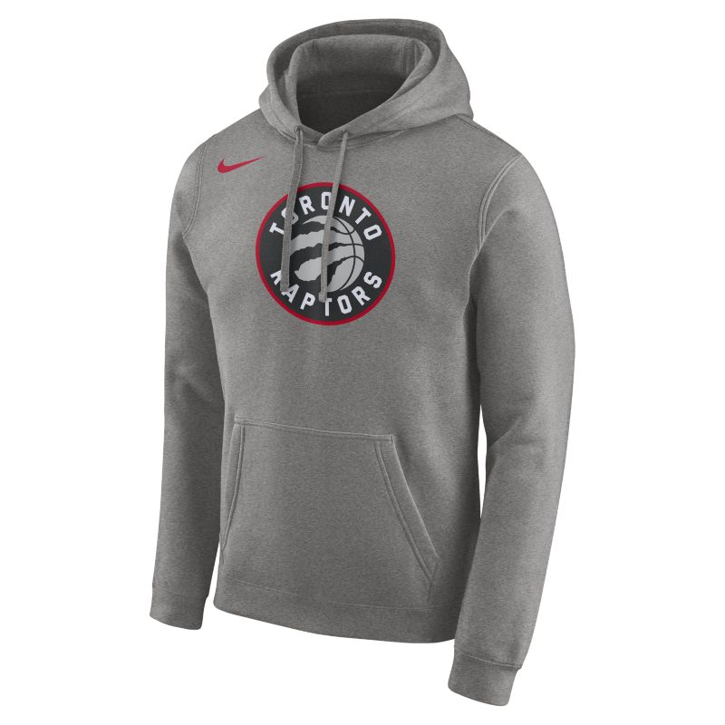 Toronto Raptors Nike Men's Logo NBA Hoodie - Grey