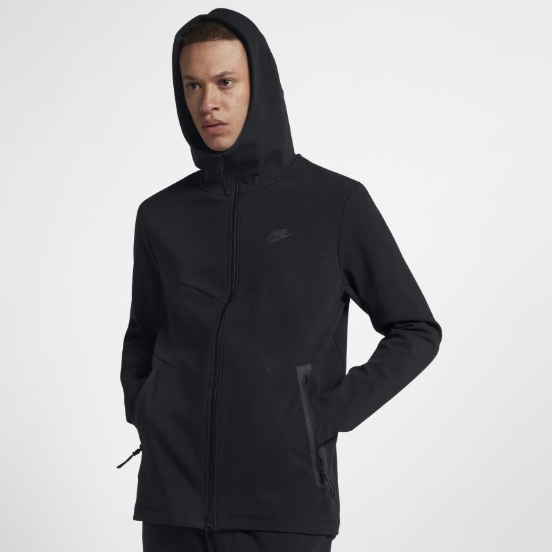 Nike Sportswear Tech Men's Full-Zip Hoodie - Black