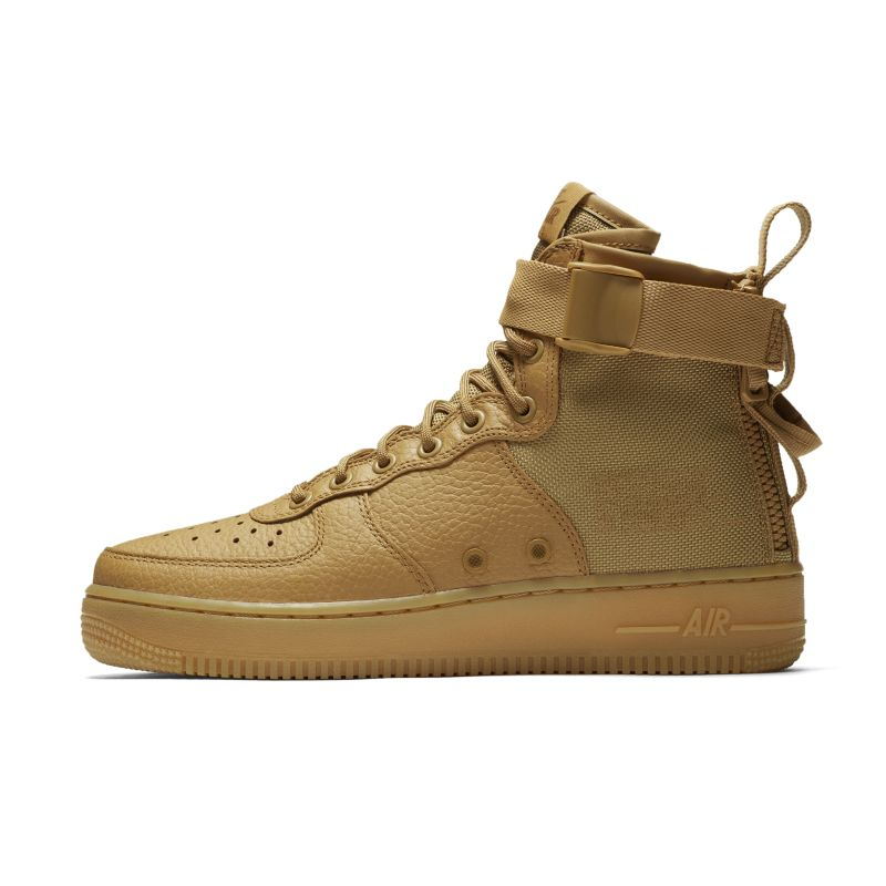 Nike SF Air Force 1 Mid Women's Boot - Gold