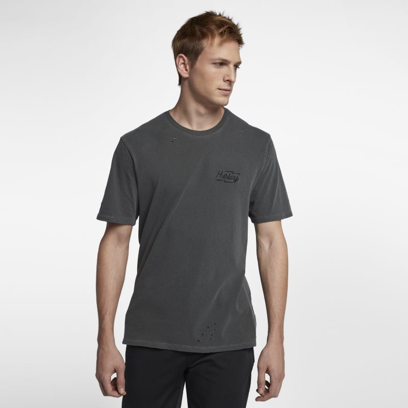 Hurley Bolts Destroy Grind Men's T-Shirt - Black
