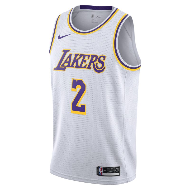 65294896ced LONZO ASSOCIATION EDITION SWINGMAN LOS ANGELES LAKERS CAMISETA NIKE NBA  CONNECTED HOMBRE