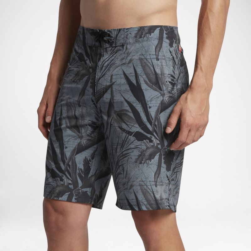 "Hurley Phantom JJF 3 Maps Men's 20""(51cm approx.) Board Shorts - Black"