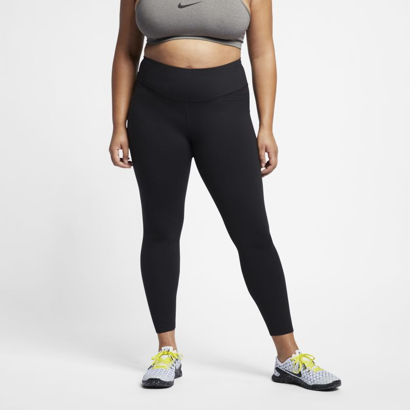 Nike Plus Size - Power Sculpt Women's High-Rise Training Tights - Black