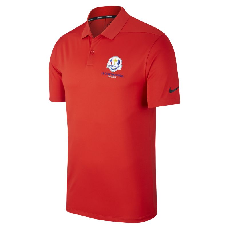 Nike Dri-FIT Victory Ryder Cup Men's Standard-Fit Golf Polo - Red