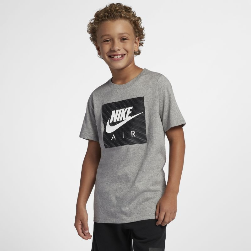 Nike Air Older Kids'(Boys') T-Shirt - Grey