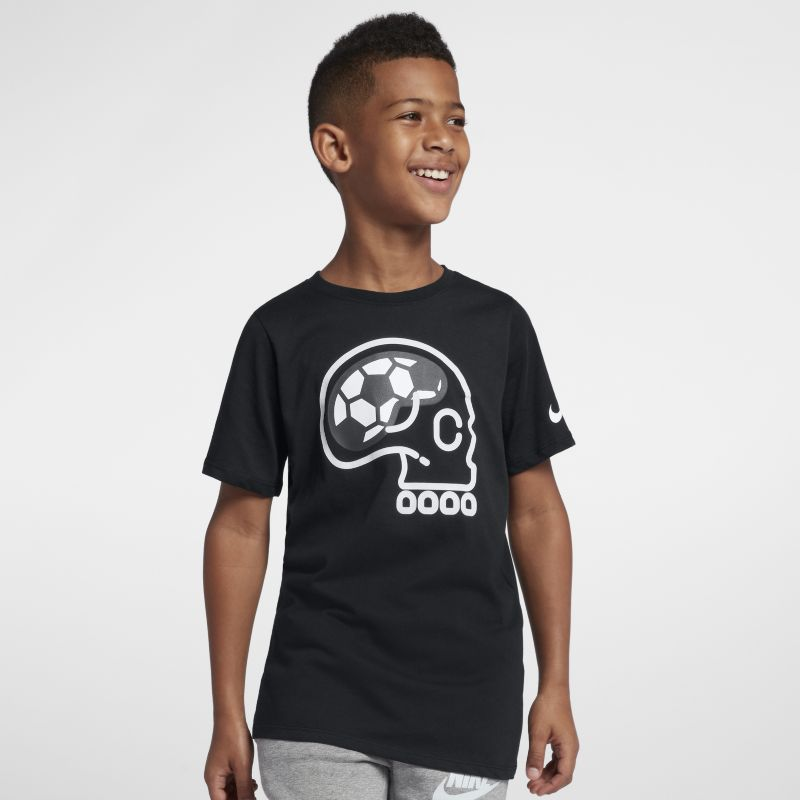Nike Dri-FIT Older Kids' (Boys') T-Shirt - Black