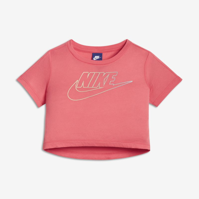 Nike Sportswear Older Kids'(Girls') Short-Sleeve Top - Pink