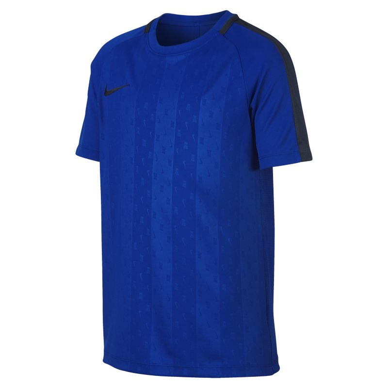 Nike Dri-FIT Academy Older Kids'(Boys') Short-Sleeve Football Top - Blue