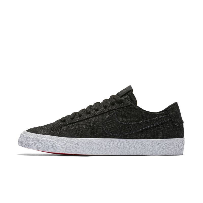 Image of Scarpa da skateboard Nike SB Zoom Blazer Low Canvas Deconstructed - Uomo - Nero