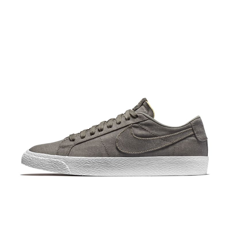 Nike SB Zoom Blazer Low Canvas Deconstructed Men's Skateboarding Shoe - Brown