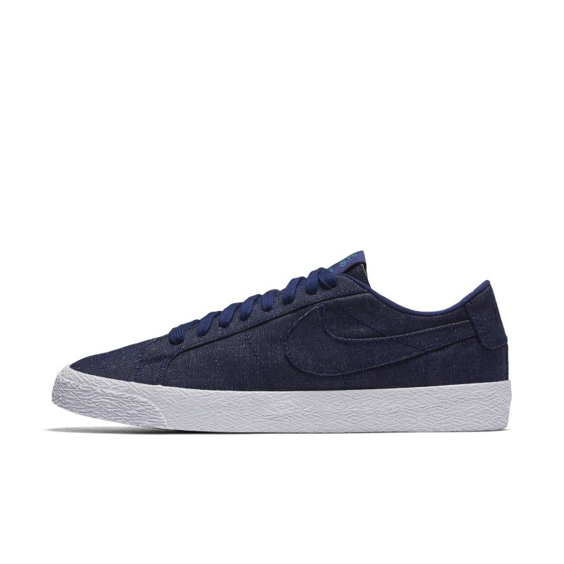 Image of Scarpa da skateboard Nike SB Zoom Blazer Low Canvas Deconstructed - Uomo - Blu