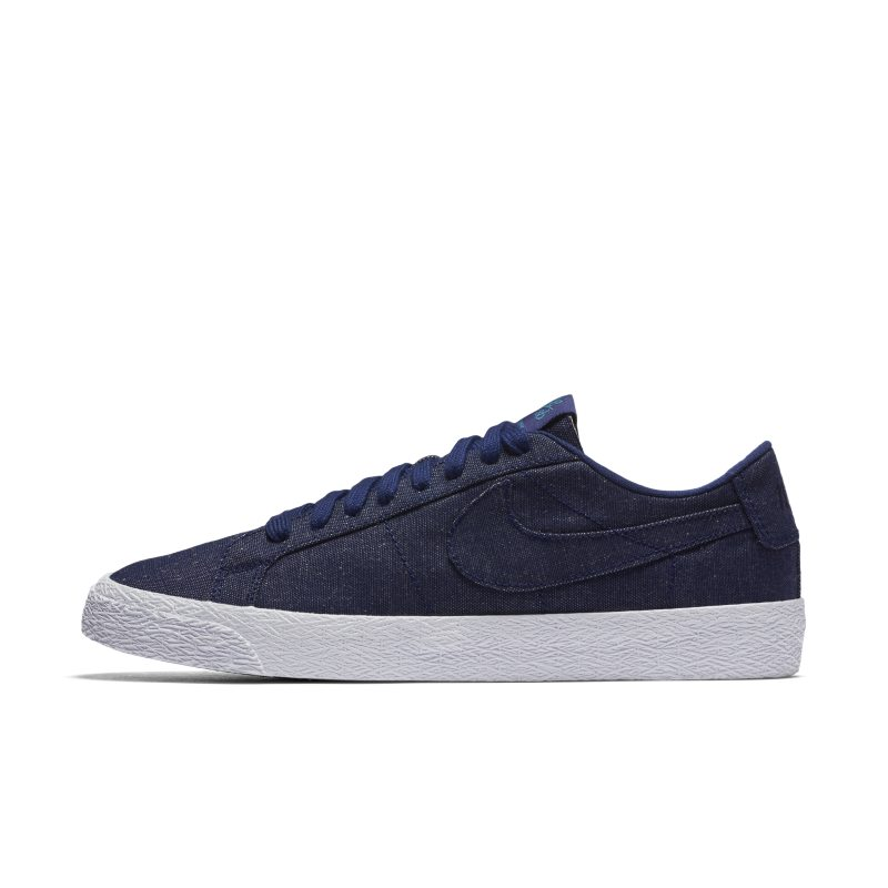 Image of Nike SB Blazer Zoom Low Men's Skateboarding Shoe Black