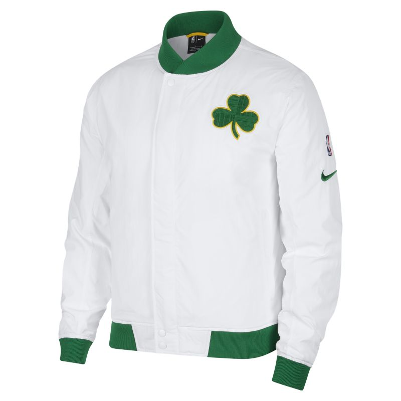 Boston Celtics Nike Courtside Men's NBA Jacket - White
