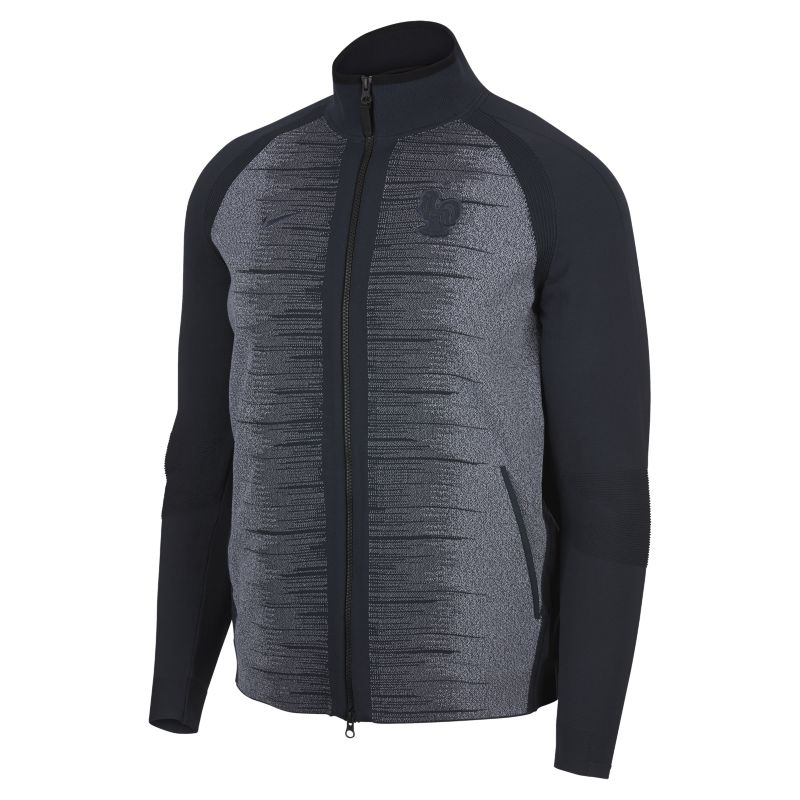 FFF Tech Knit Men's Jacket - Blue