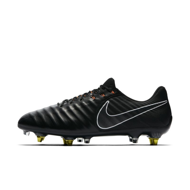 Nike Tiempo Legend VII Elite Anti-Clog Traction SG-PRO Soft-Ground Football Boot - Black