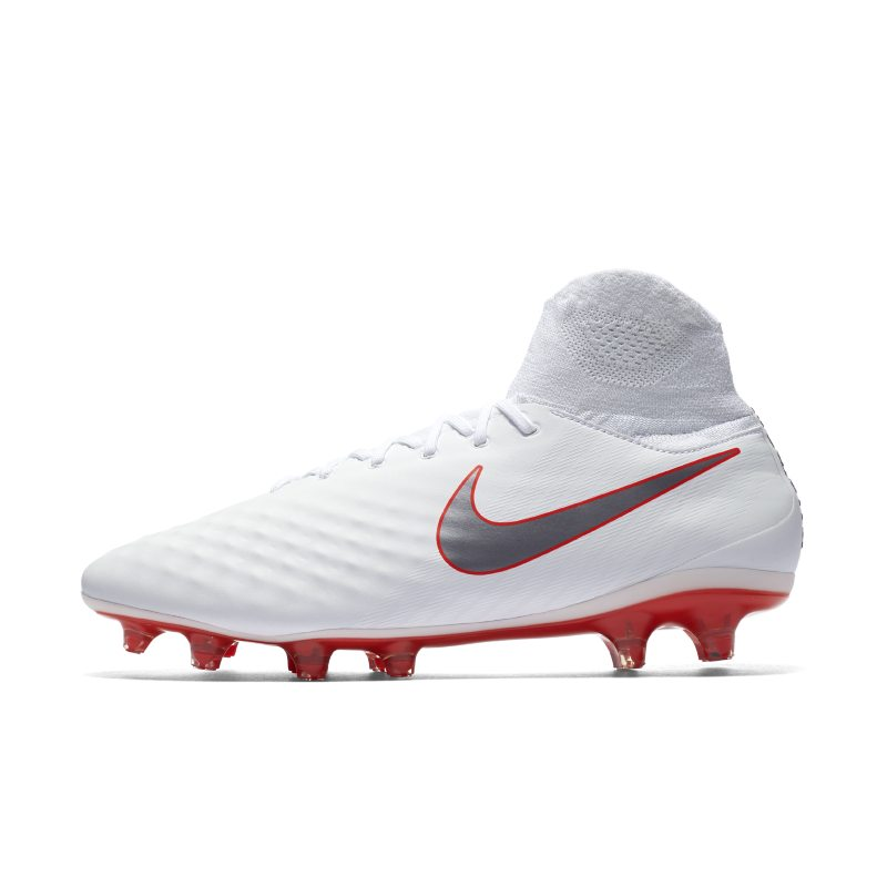 Nike Magista Obra II Pro Dynamic Fit Just Do It Firm-Ground Football Boot - White