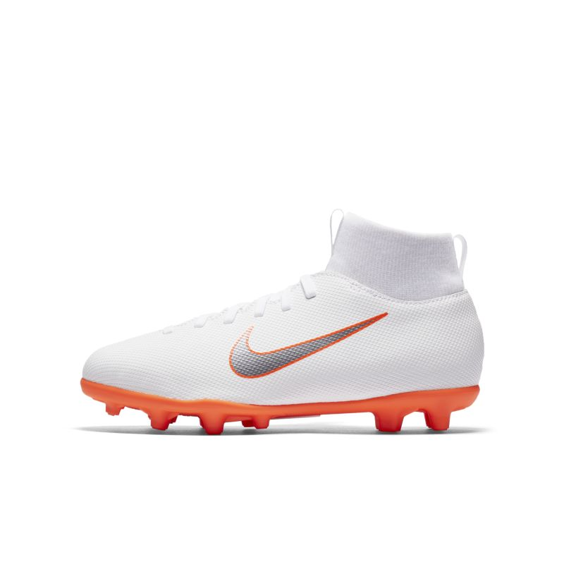 Nike Jr. Mercurial Superfly VI Club Just Do It MG Younger/Older Kids'Multi-Ground Football Boot - Wh