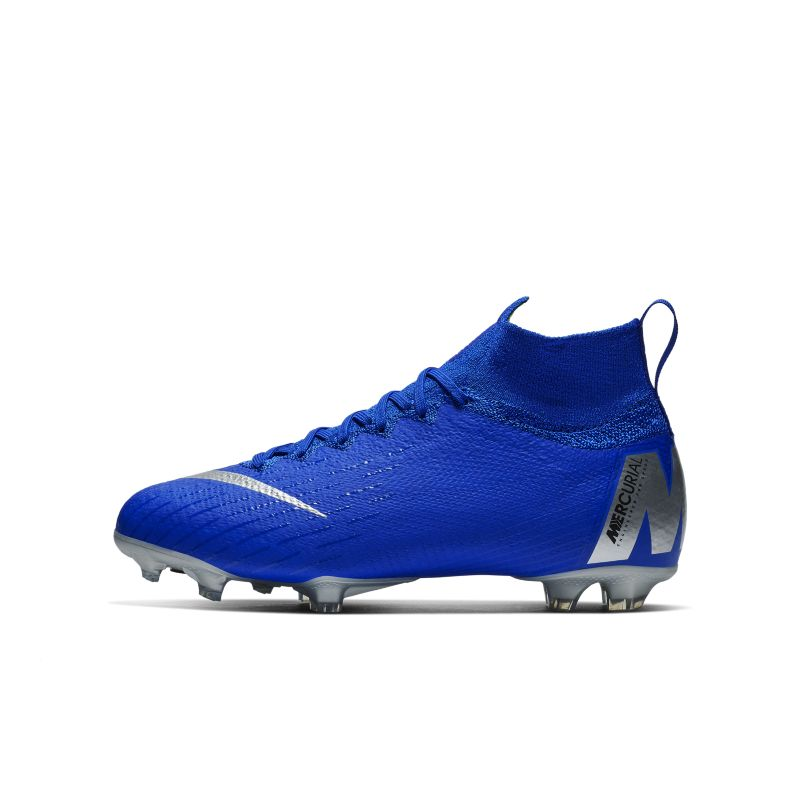 Nike Jr. Mercurial Superfly 360 Elite Older Kids' Firm-Ground Football Boot - Blue