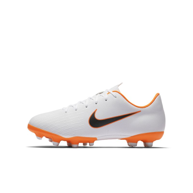 Nike Jr. Mercurial Vapor XII Academy JDI Younger/Older Kids'Multi-Ground Football Boot - White