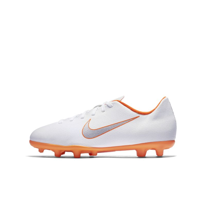 Nike Jr. Mercurial Vapor XII Club Just Do It MG Younger/Older Kids'Multi-Ground Football Boot - Whit