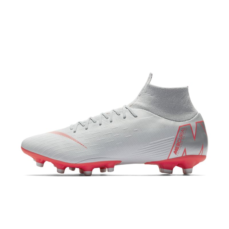 Nike Mercurial Superfly VI Pro AG-PRO Artificial-Grass Football Boot - Grey