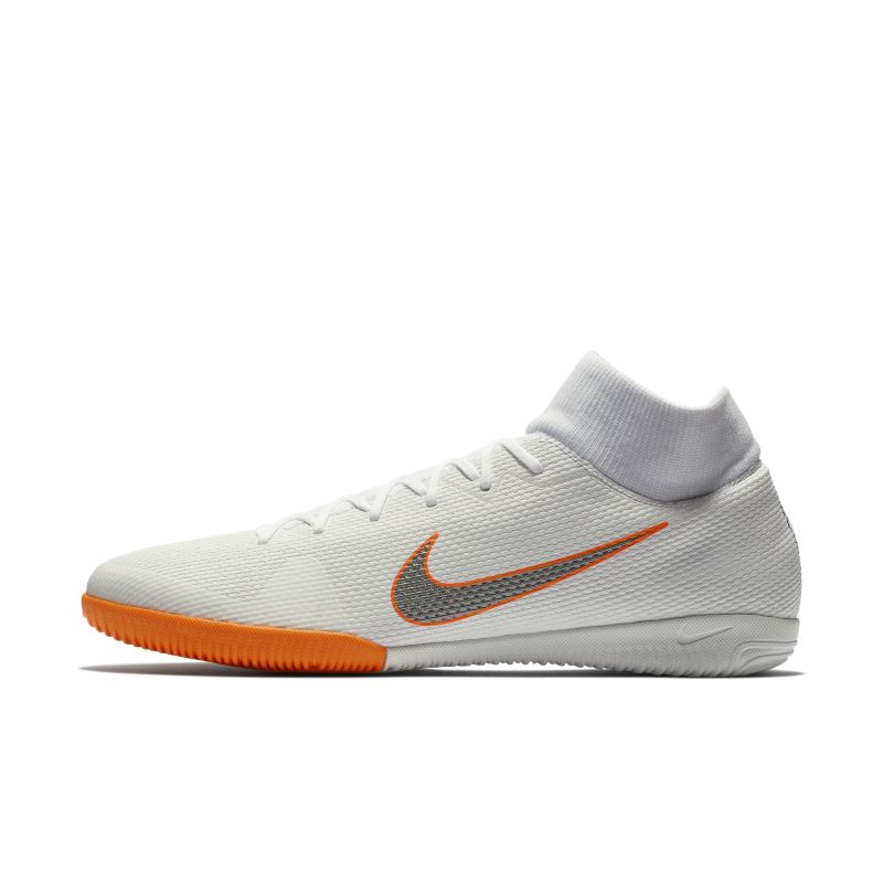 Nike MercurialX Superfly VI Academy IC Indoor/Court Football Shoe - White