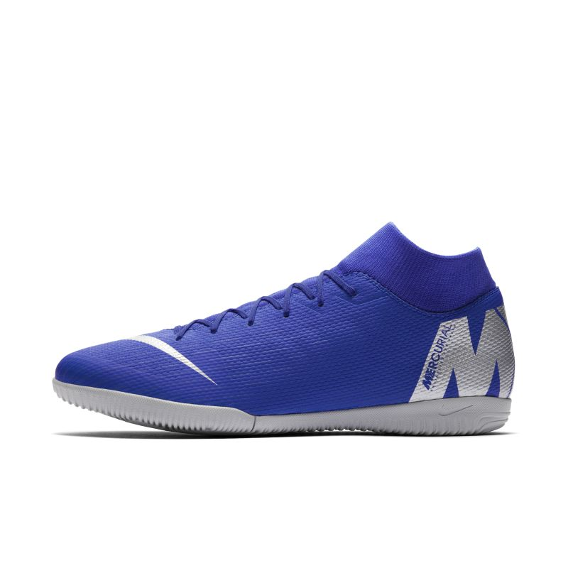 Nike MercurialX Superfly VI Academy IC Indoor/Court Football Shoe - Blue