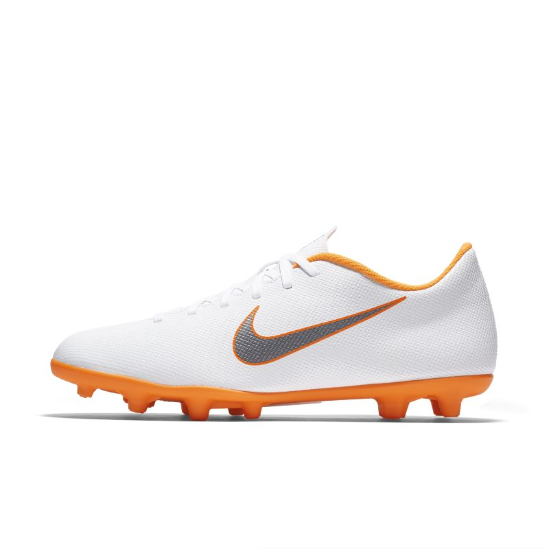 Nike Mercurial Vapor XII Club Just Do It MG Multi-Ground Football Boot - White