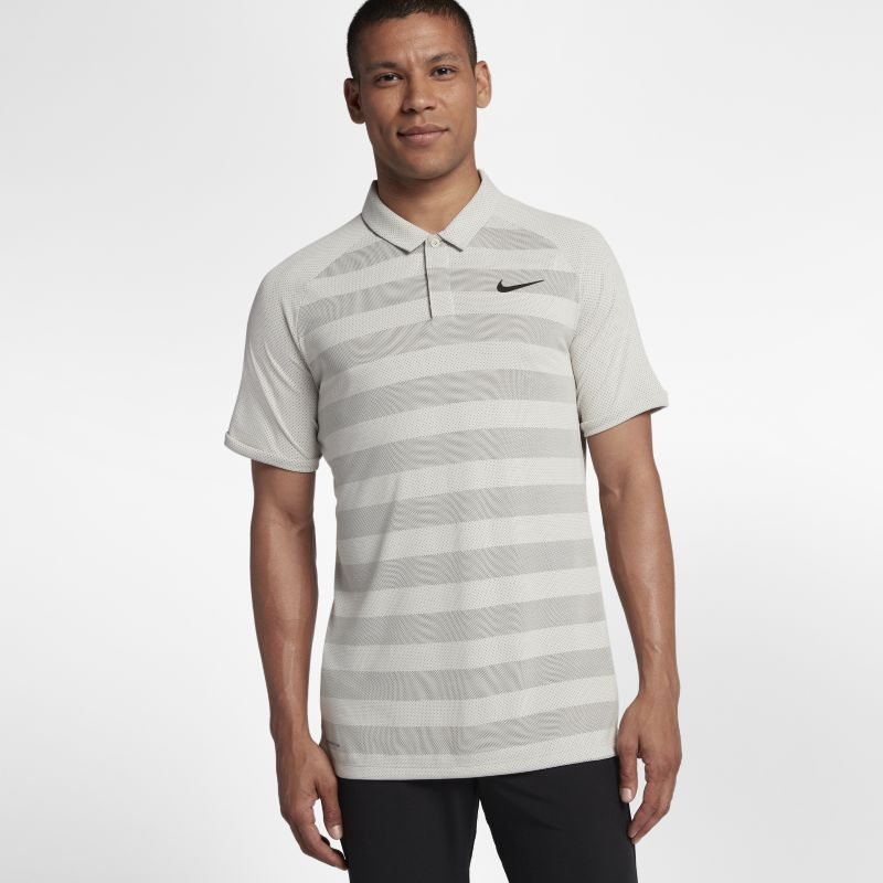 Nike Zonal Cooling Men's Golf Polo - Cream
