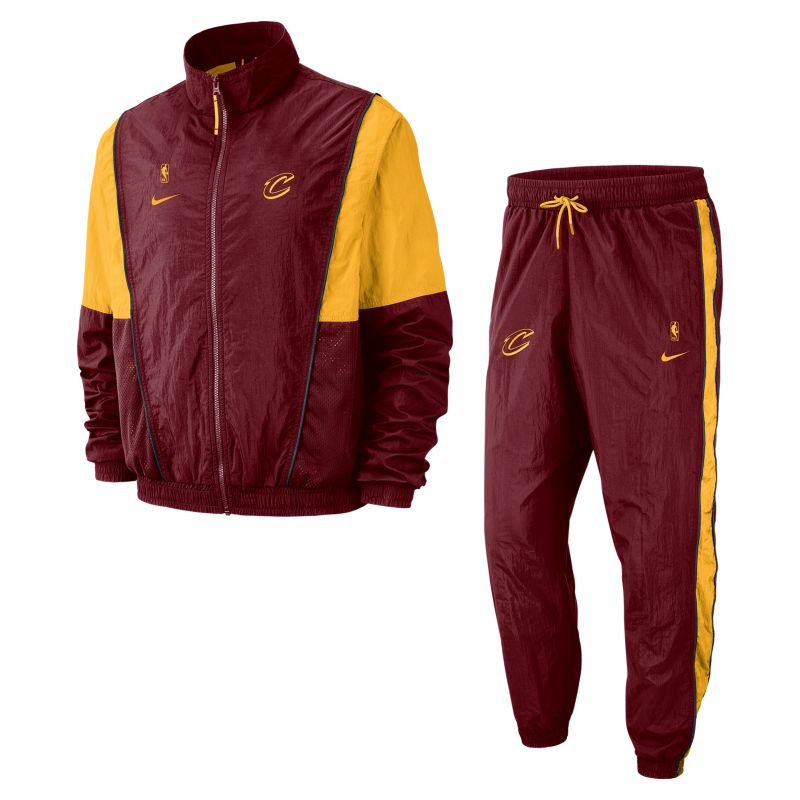 Cleveland Cavaliers Nike Men's NBA Tracksuit - Red