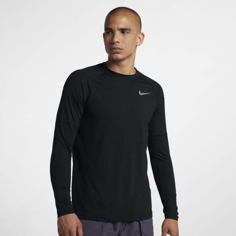 Nike Element Men's Running Crew - Black