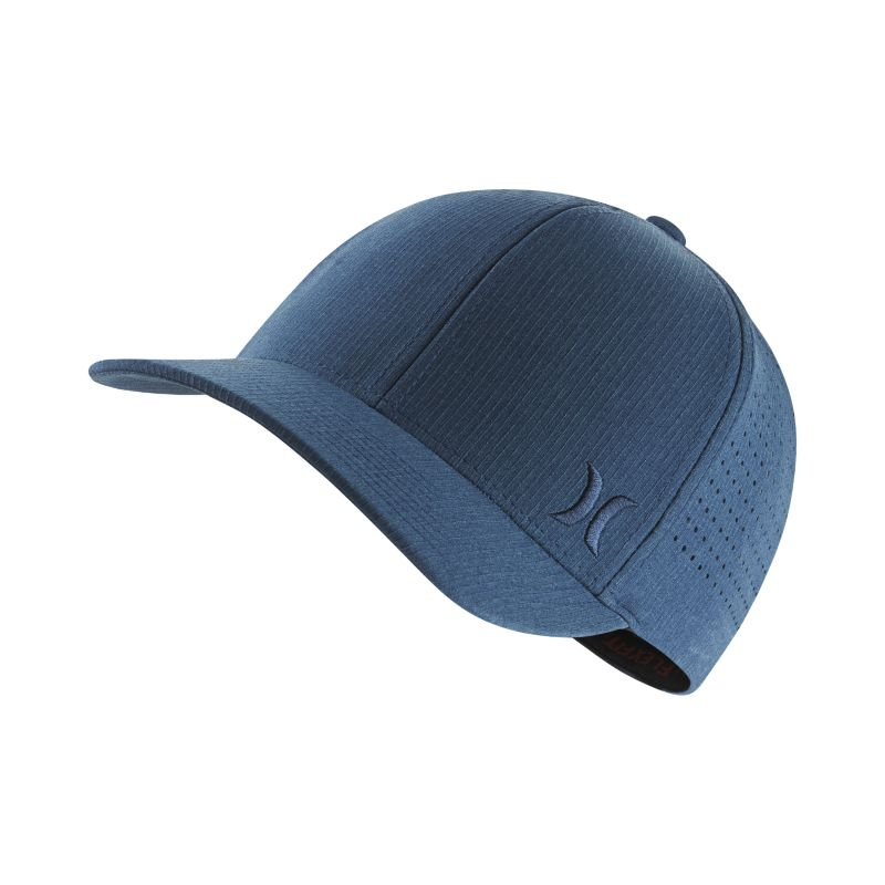 Hurley Phantom Ripstop Fitted Hat - Blue