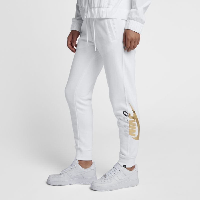 Nike Sportswear Rally Women's Metallic Trousers - White
