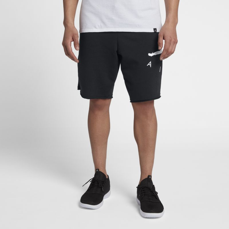Jordan Jumpman Air Men's Fleece Shorts - Black