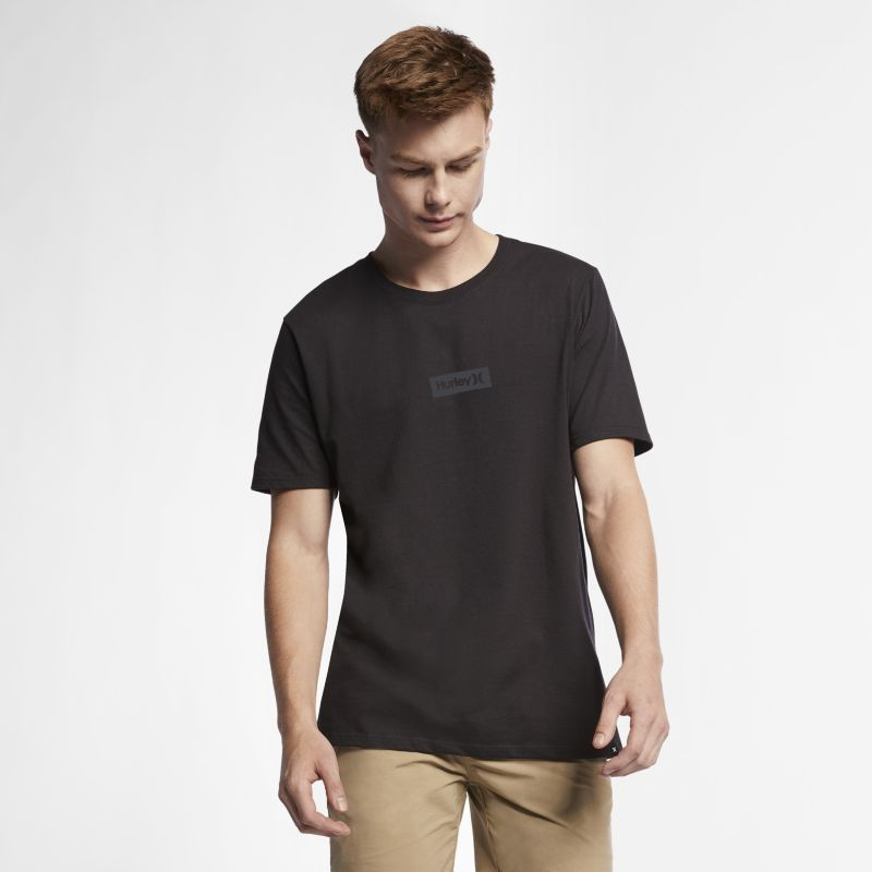 Hurley Premium One And Only Small Box Men's T-Shirt - Black