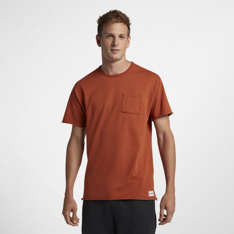 Hurley L7 Pocket Crew Men's T-Shirt - Brown