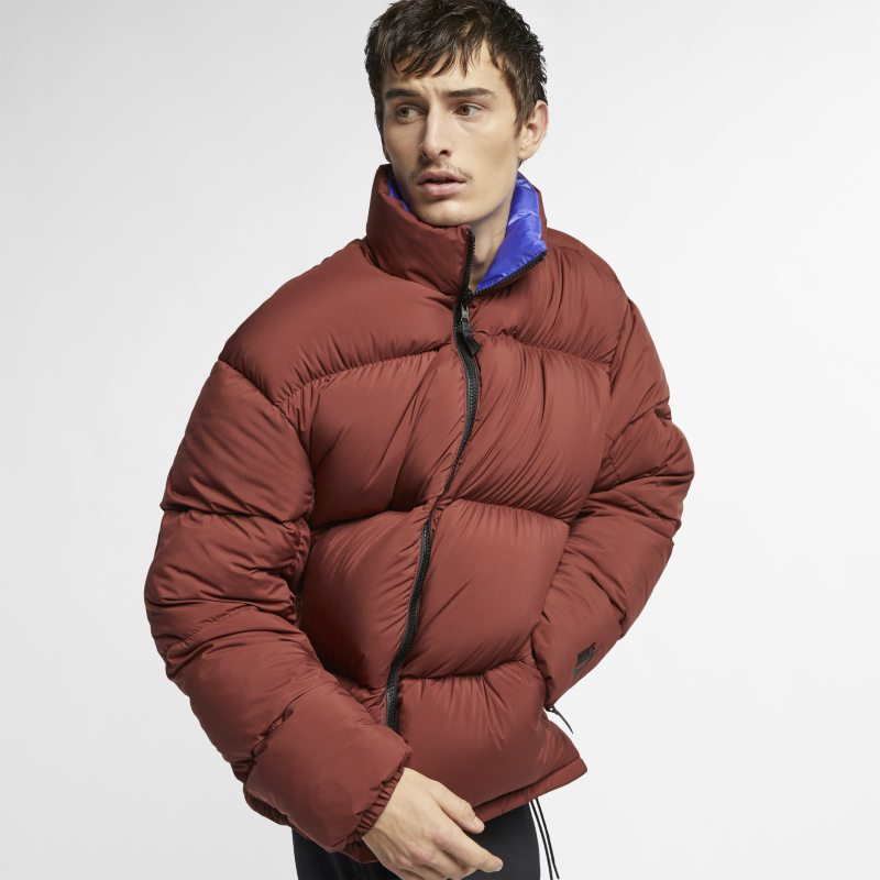 5a6ad98adc NikeLab Collection Men's Puffer Jacket - Brown | £240.00 | Gay Times