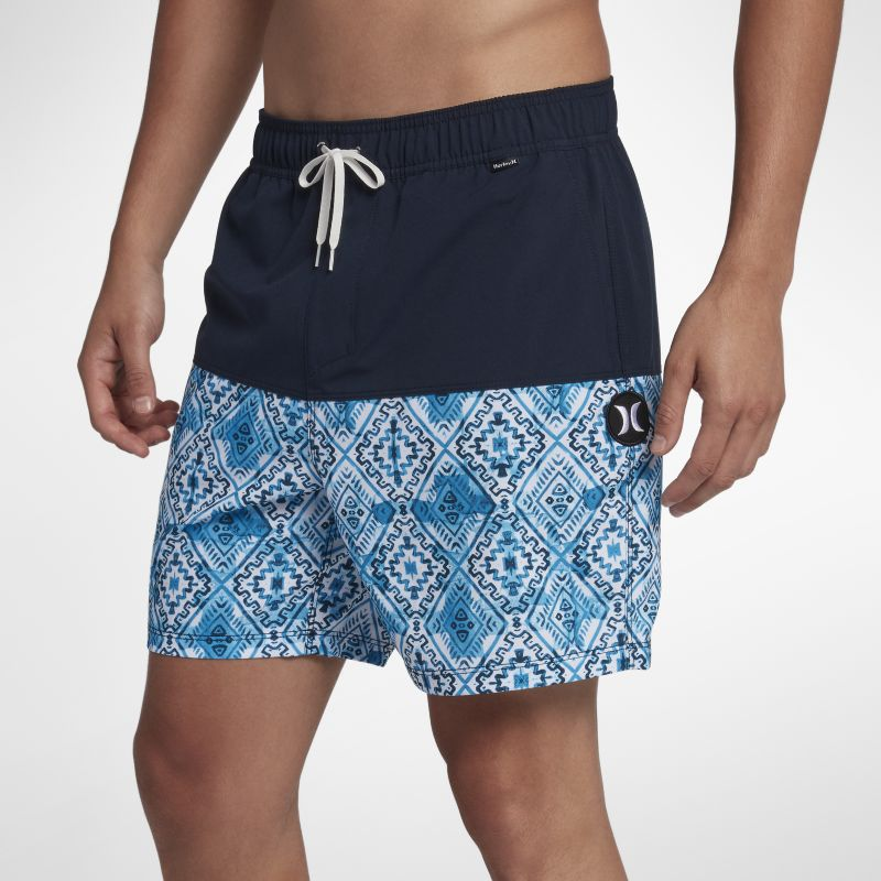 Hurley Groovy Volley Men's 43cm Boardshorts - Blue