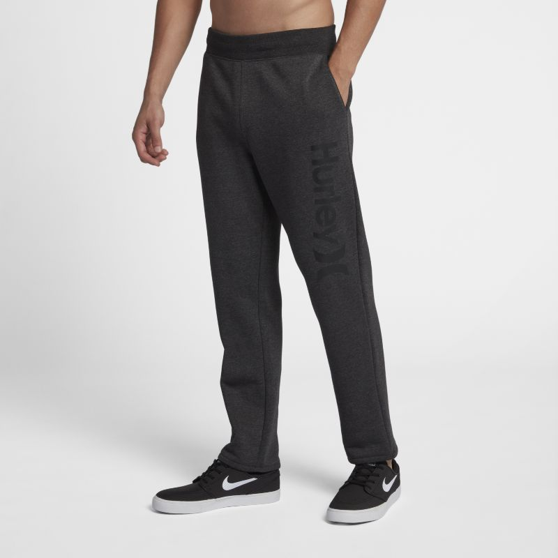 Hurley Surf Check One And Only Men's Track Trousers - Black