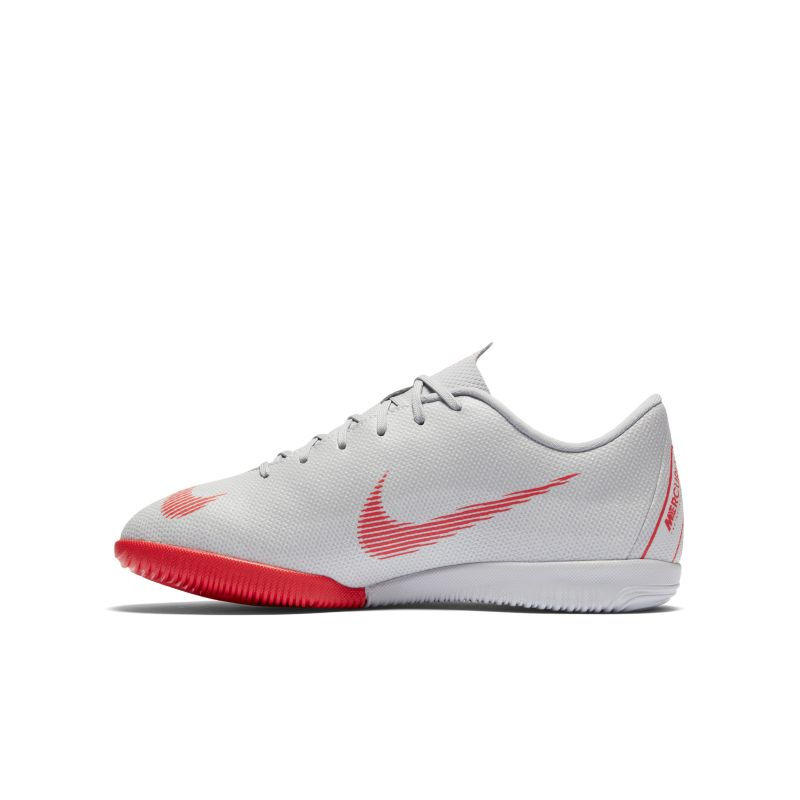 Nike Jr. MercurialX Vapor XII Academy Younger/Older Kids'Indoor/Court Football Shoe - Grey