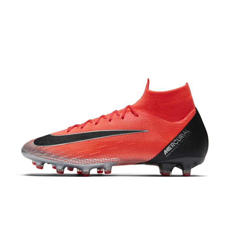 CR7 SuperflyX 6 Elite Artificial-Grass Pro Football Boot - Red